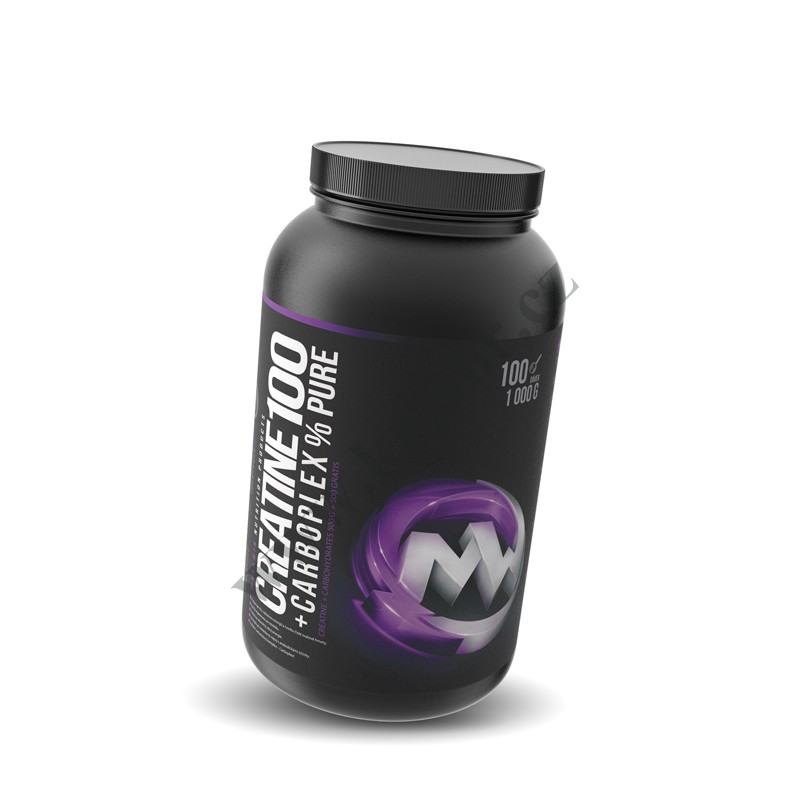 100 % Pure Creatine + Carboplex